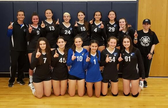 15 Blue The Home Of B B Volleyball