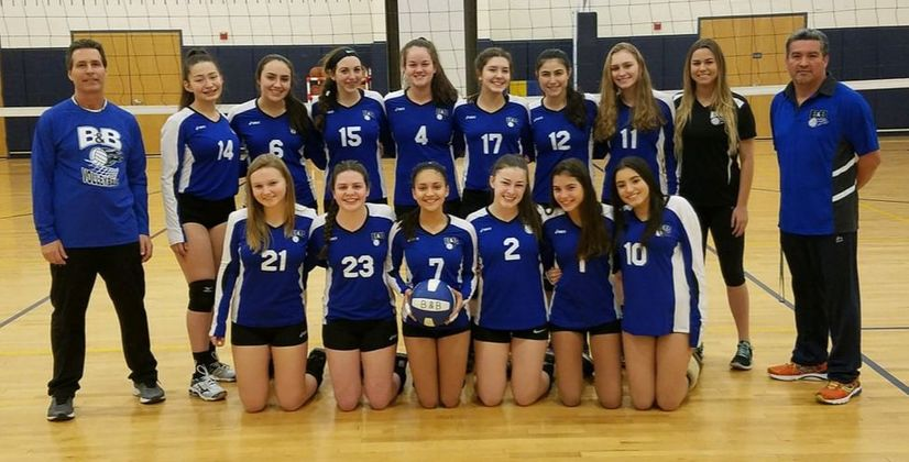 16 Blue The Home Of B Amp B Volleyball